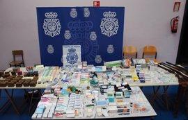 La Policía desarticula un grupo dedicado a la adquisición ilegal de sustancias dopantes para deportistas