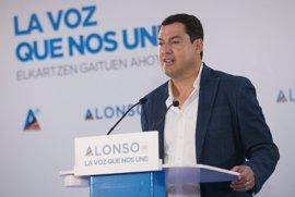 """Moreno: Susana Díaz """"toma el pelo a los andaluces justificando a responsables"""" de los ERE"""