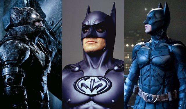 Los trajes de Batman
