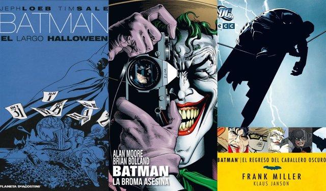 Portadas comics Batman