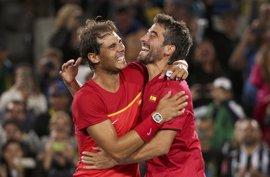 España regresa al Grupo Mundial tras conseguir el tercer punto en el dobles