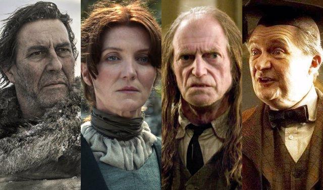 Personajes Harry Potter y Juego de tronos