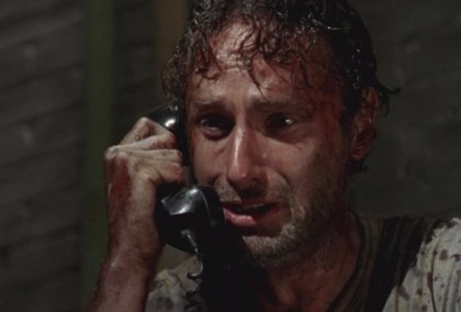 The Walking Dead: Incluso la madre de Andrew Lincoln (Rick) está preocupada por su hijo
