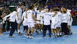 Argentina y Croacia, final de la Copa Davis