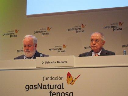 """Arias Cañete elogia el """"acierto"""" de Salvador Gabarró como presidente de Gas Natural Fenosa"""