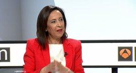 Robles (PSOE) cree que la presunción de inocencia es compatible con exigir a Barberá responsabilidad política