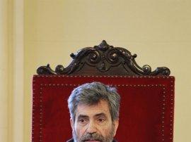 """El presidente del Supremo defiende la """"independencia"""" de Conde-Pumpido, instructor de la causa contra Barberá"""