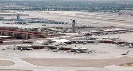 Heridas dos personas en un tiroteo en el aeropuerto de Las Vegas