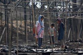 El 60 por ciento del centro de refugiados de Moria ha quedado destruido por el incendio