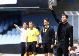 """Simeone: """"No hemos merecido ganar al Barcelona en ningún partido"""""""
