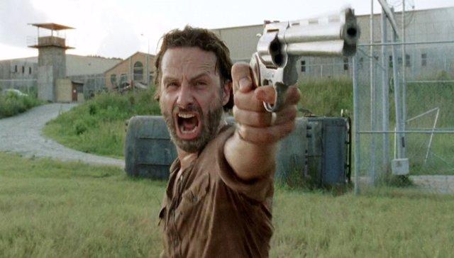 Andrew Lincoln es Rick Grimes en The Walking Dead