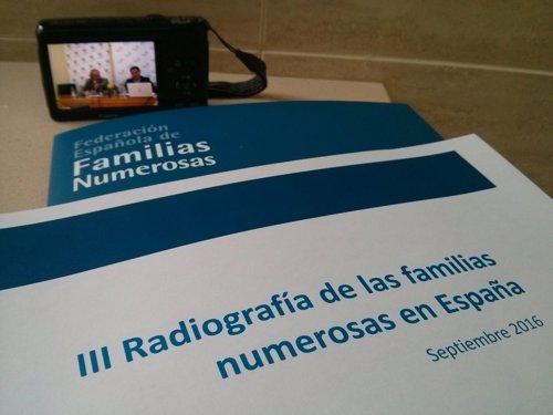 Presentación III Radiografía de las famlias numerosas