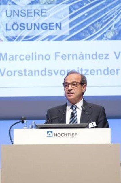 ACS eleva por encima de la cota del 70% su participación en la alemana Hochtief
