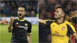 Fábregas salva al Chelsea y Lucas Pérez se estrena con el Arsenal en la Copa de la Liga