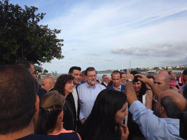 Mariano Rajoy, presidente del Gobierno en la campaña del 25S