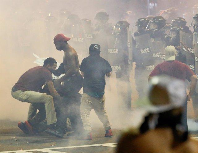 Protestas en Charlotte, EEUU