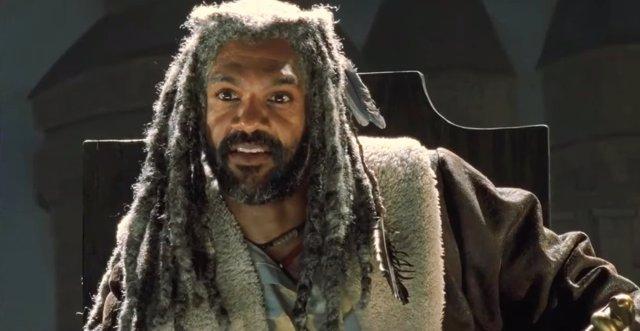El Rey Ezekiel en El Reino en la 7ª temporada de The Walking Dead