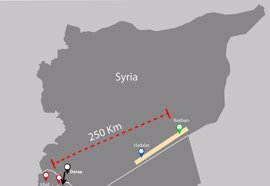MSF denuncia la grave situación que viven los más de 75.000 sirios atrapados en el Berm