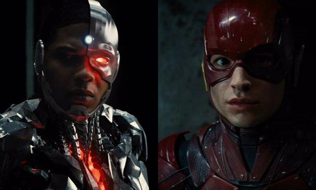 Cyborg y The Flash