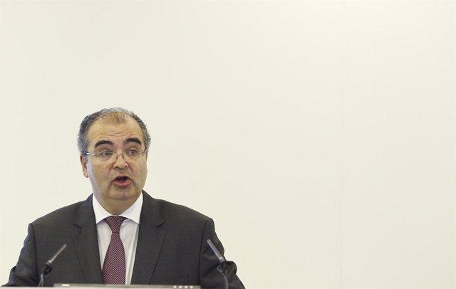 Ángel Ron, presenta los resultados del banco