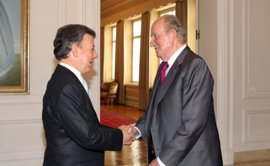 El Rey Juan Carlos asistirá a la firma del acuerdo de paz en Colombia