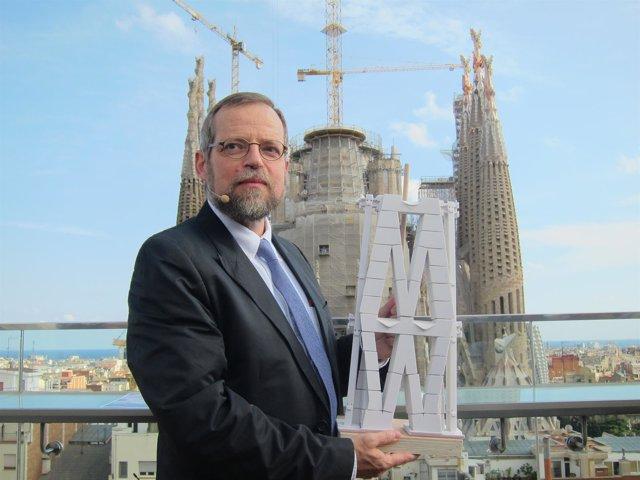 El arquitecto director de la Sagrada Familia J.Faulí