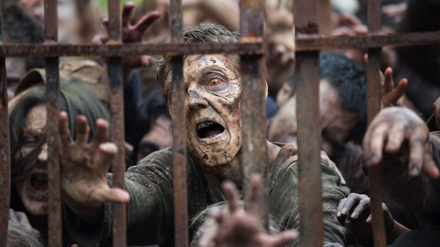 Zombies en la 6ª temporada de The Walking Dead