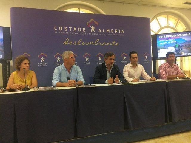 Huércal de Almería se llenará de moteros en apoyo a las enfermedades raras.