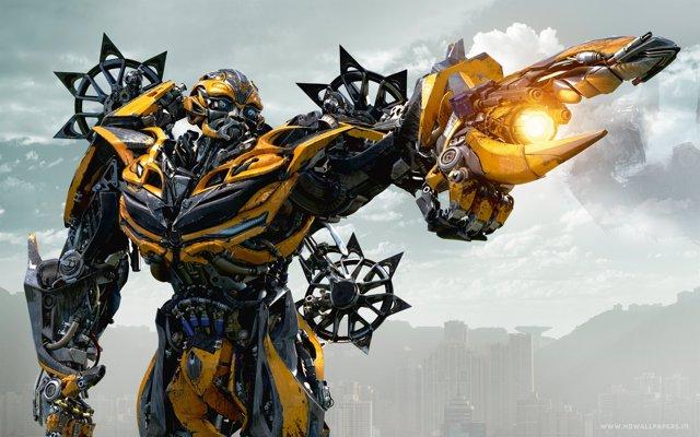 Imagen de Bumblebee en la saga 'Transformers'