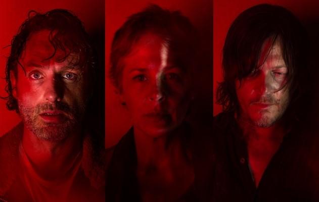 Rick, Carol y Daryl en los pósters de la 7ª temporada de The Walking Dead