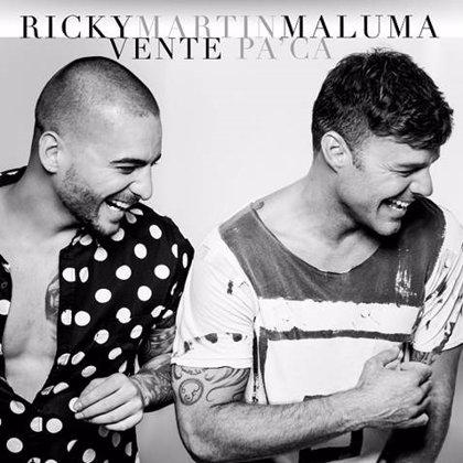 Ricky Martin estrena videoclip junto a Maluma: Vente pa'ca
