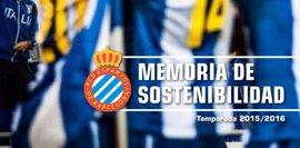 El Espanyol, primer club en España que publica la memoria de sostenibilidad