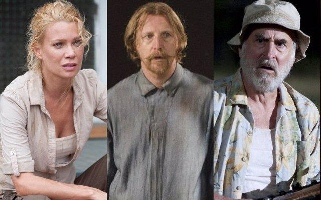 Andrea, Axel y Dale de The Walking Dead