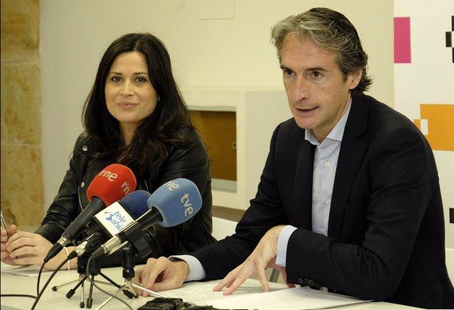 Miriam Díaz e Íñigo de la Serna