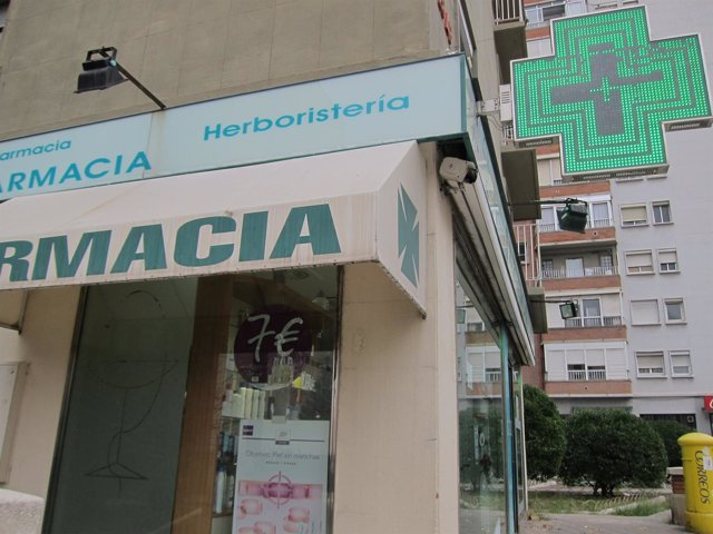 Farmacia en Zaragoza.