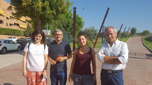 Concejales de Ganemos Córdoba