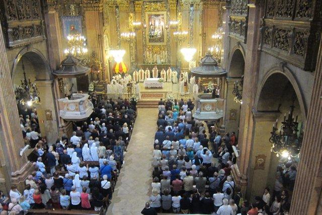 Misa de la patrona de Barcelona, la Mercè