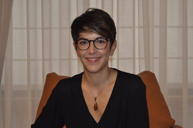 La presidenta de las Cortes de Aragón, Violeta Barba.