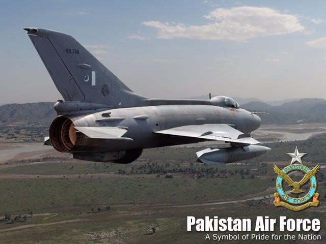 Caza paquistaní F-7