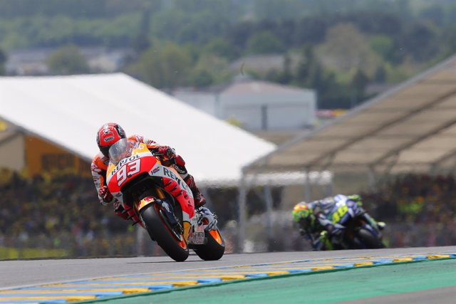 Marc Márquez en el Gran Premio de Francia