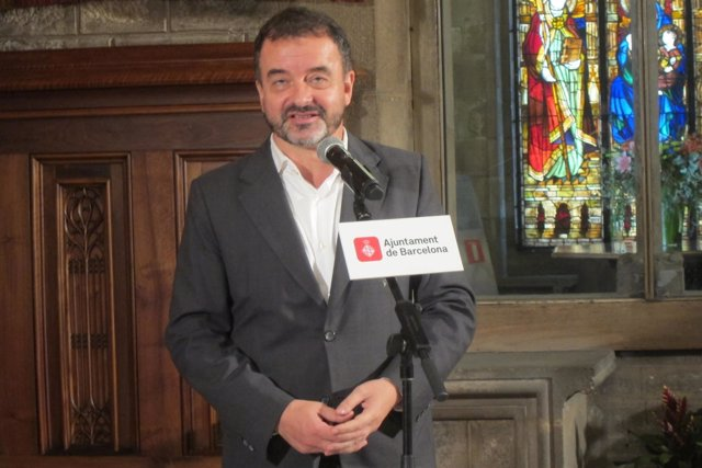 El concejal de ERC en Barcelona Alfred Bosch
