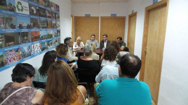 Acto del PP en Vejer de la Frontera (Cádiz)