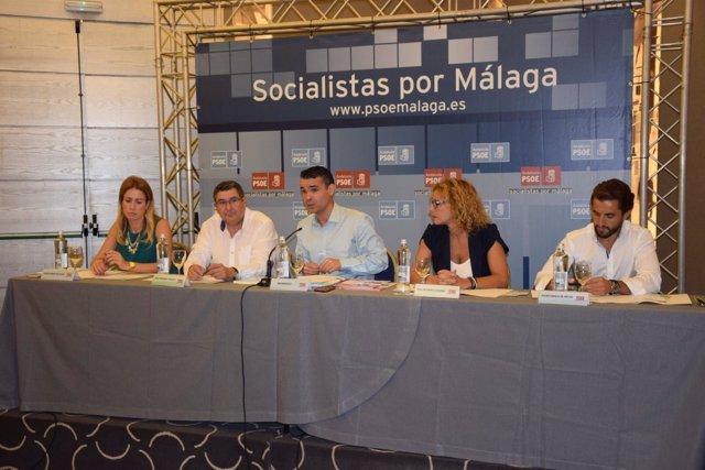 José Bernal preside Comité Provincial del PSOE de Málaga