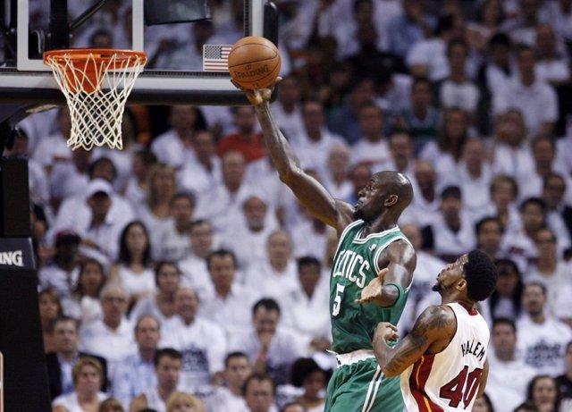 Kevin Garnett Boston Celtics Miami Heat Udonis Haslem
