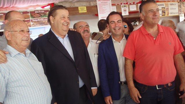 NOTA Y FOTOS PSOE CLM. FERNANDEZ VAQUERO EN TALAVERA