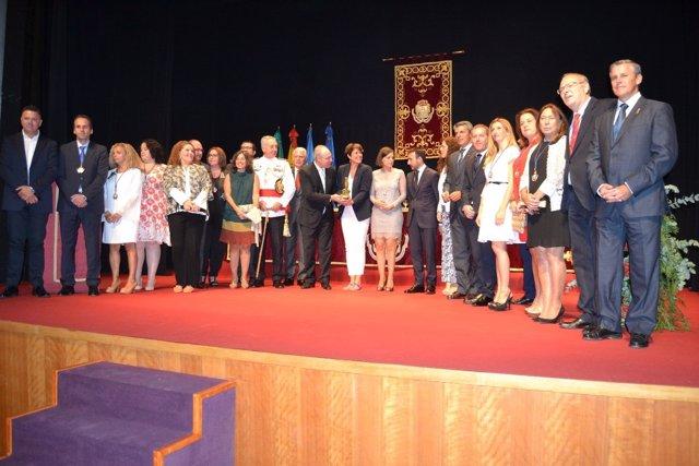Entrega de premios Cortes de la Real Isla de León