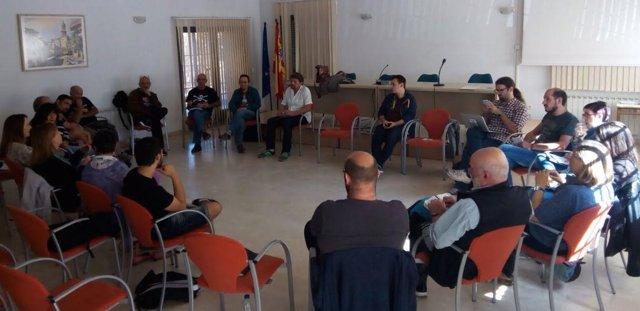 Encuentro de Podemos en Utrillas este sábado.