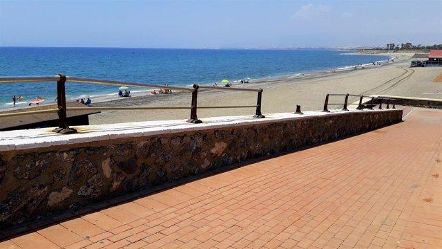 GMS Almería. NOTA Y Foto Paseo Marítimo Retamar