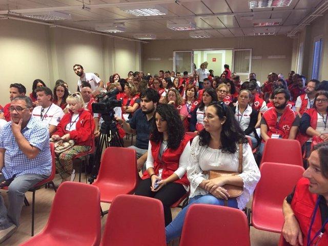 Encuentro provincial de voluntariado de Cruz Roja Granada