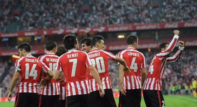 El Athletic Club celebra su cuarta victoria liguera consecutiva